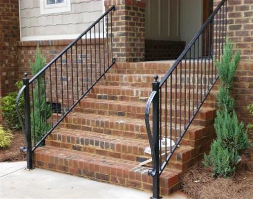 Wrought Iron Railings Wrought Iron Handrail Deck Iron Railing | Exterior Wrought Iron Railing Cost | Ironwork | Fence | Stainless Steel | Balcony Railing | Handrails
