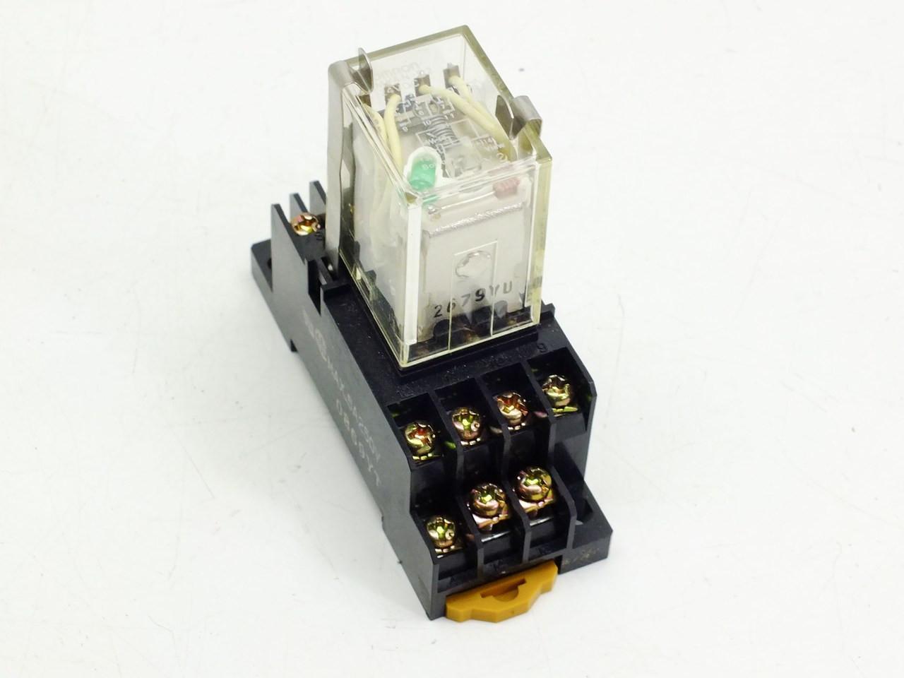 omron miniature power relay my4n d2 24vdc 5amp  [ 1280 x 960 Pixel ]