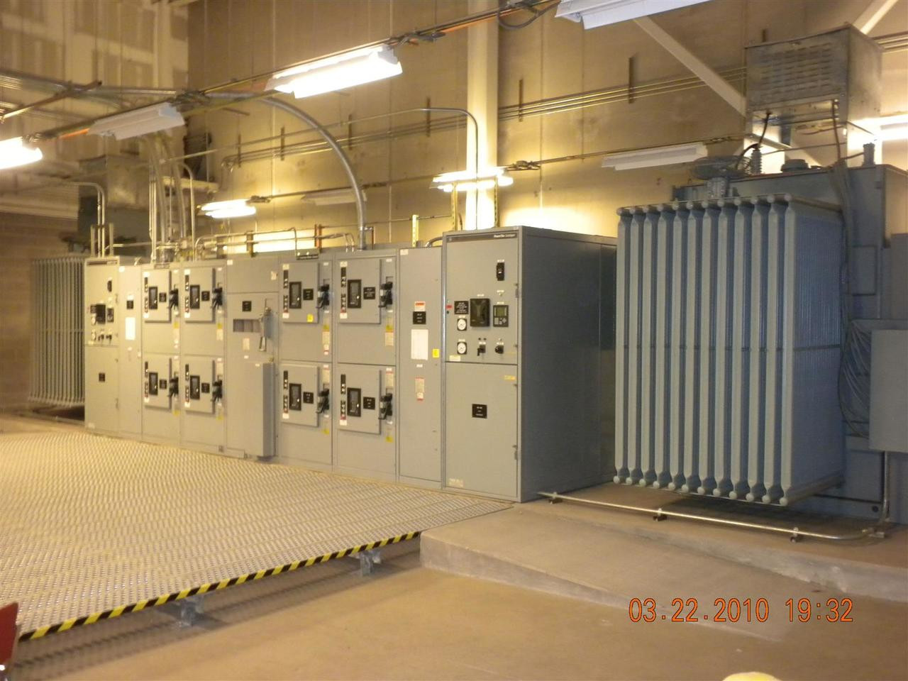 hight resolution of ge industrial systems 2500kva double ended substation electrical switchgear 1247