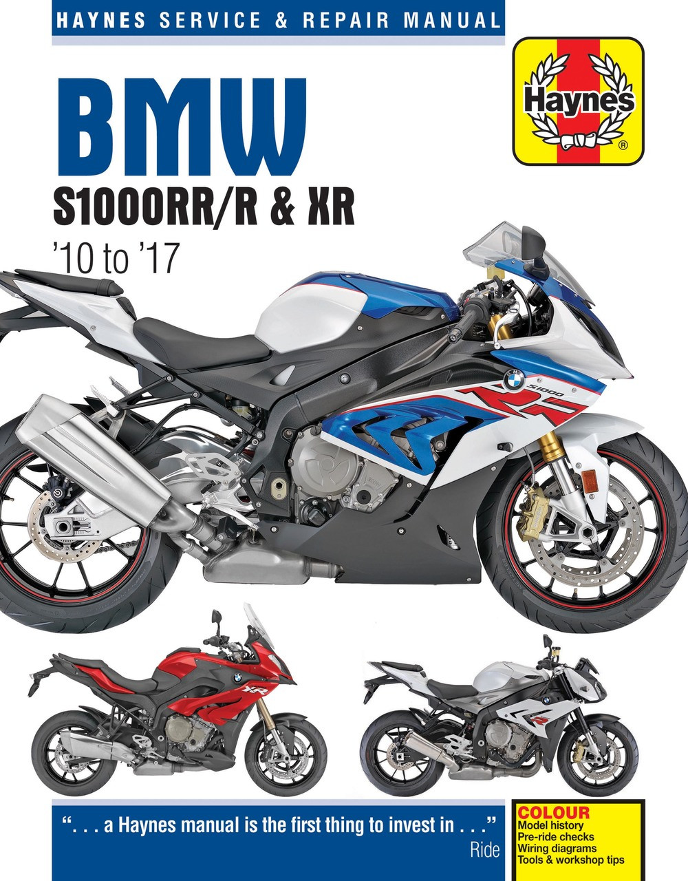 hight resolution of bmw s1000rr s1000r s1000xr 2010 2017 workshop manual