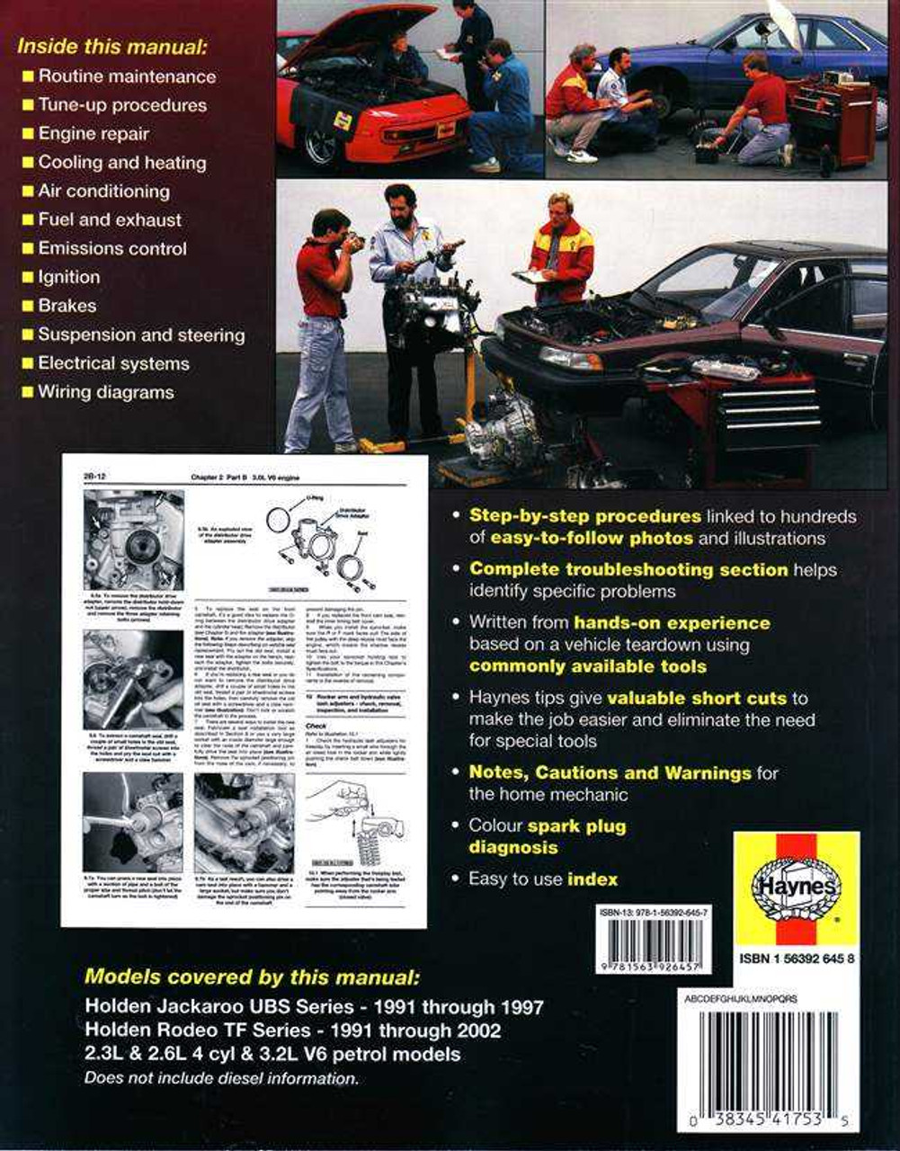 Holden Rodeo Wiring Diagram Holden Diy Wiring Diagram Repair Manual
