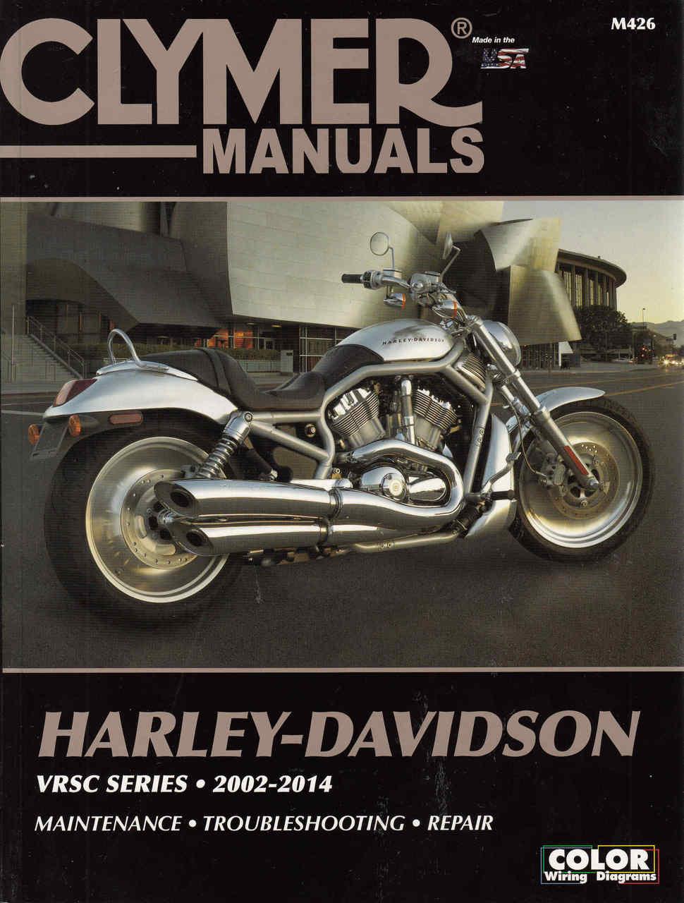 hight resolution of harley davidson vrsc series 2002 2014 workshop manual