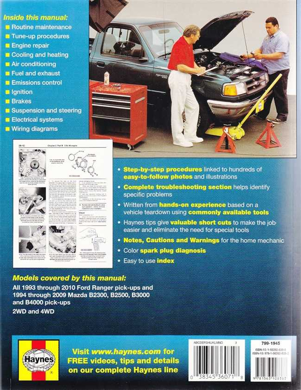 1994 Ford Ranger Ignition Wiring Diagram Car Tuning