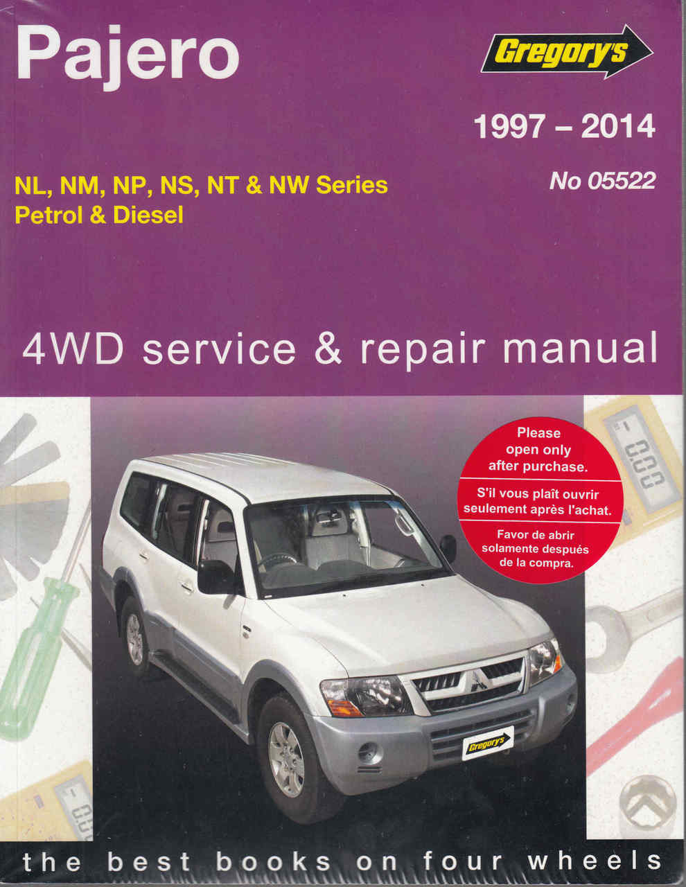 medium resolution of mitsubishi pajero nl nm np ns nt nw series petrol