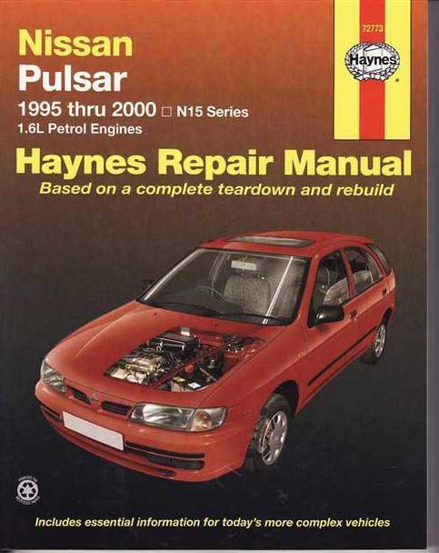 Nissan Pulsar N15 Series, 16L Petrol Engines 1995  2000 Workshop Manual