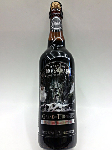 Ommegang Game of Thrones Take The Black Stout  Quality