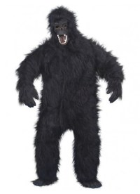 Gorilla Animal Adult Costume | Jungle Animal Costumes Online