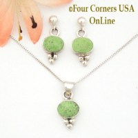 Gaspeite Jewelry - Four Corners USA OnLine