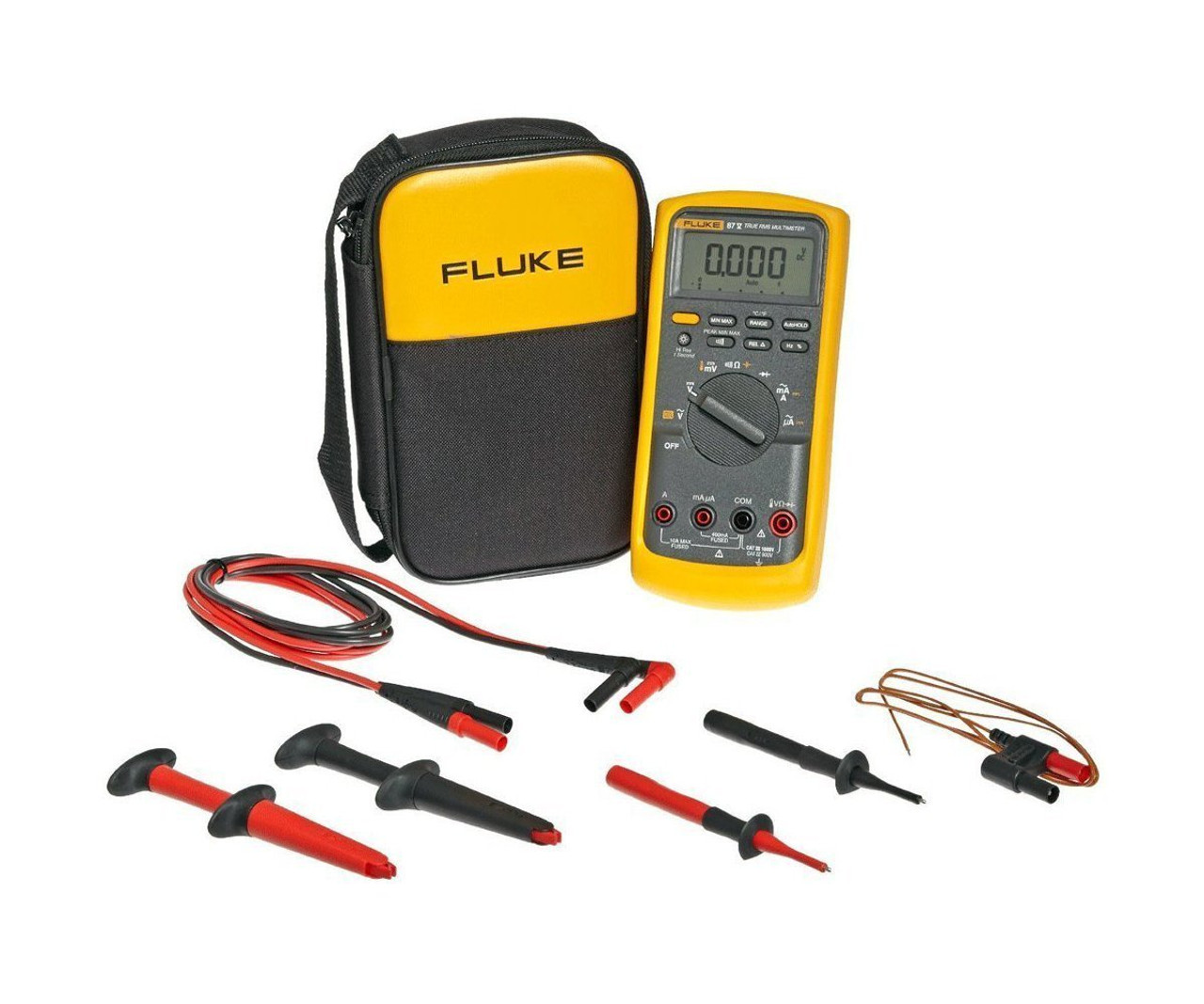 Fluke 87v Multimeter Kit And Leads - Ideal Supply Dba