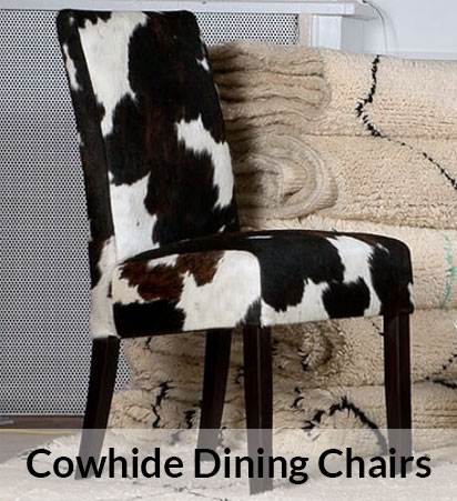 cowhide chairs uk upholstered dining room chair covers furniture by city cows
