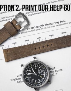 Watch strap sizing help guide also how to determine your size rh basandlokes