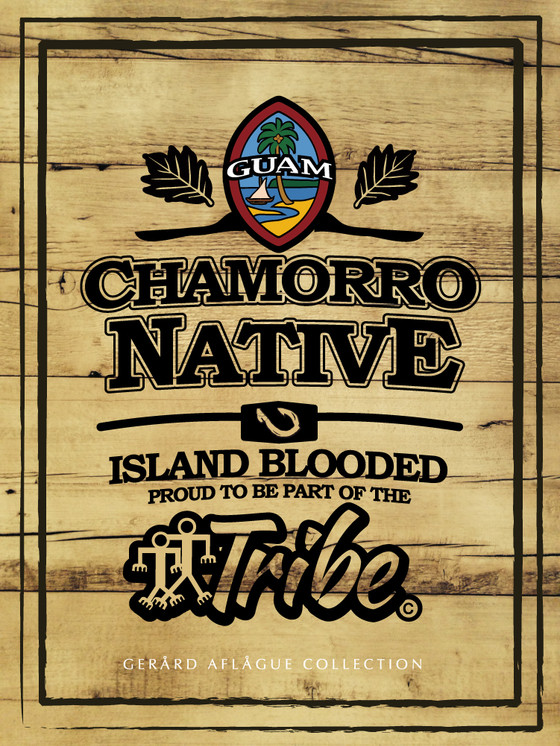 Chamorro Native Guam Seal Island Blood Tribe Poster Gerard Aflague Collection