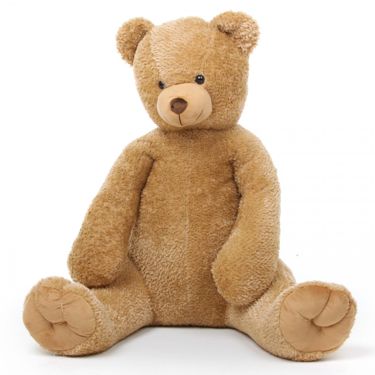 Honey Tubs 42 Large Amber Stuffed Teddy Bear Giant