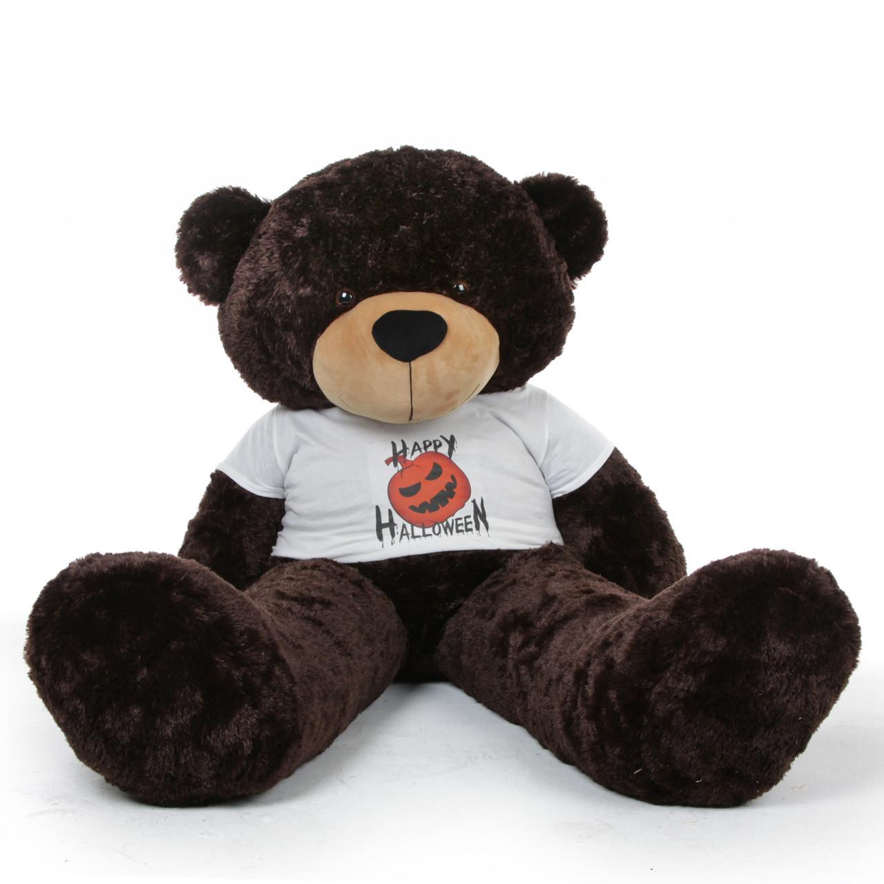Brownie Cuddles Halloween Giant Teddy Bear With Happy
