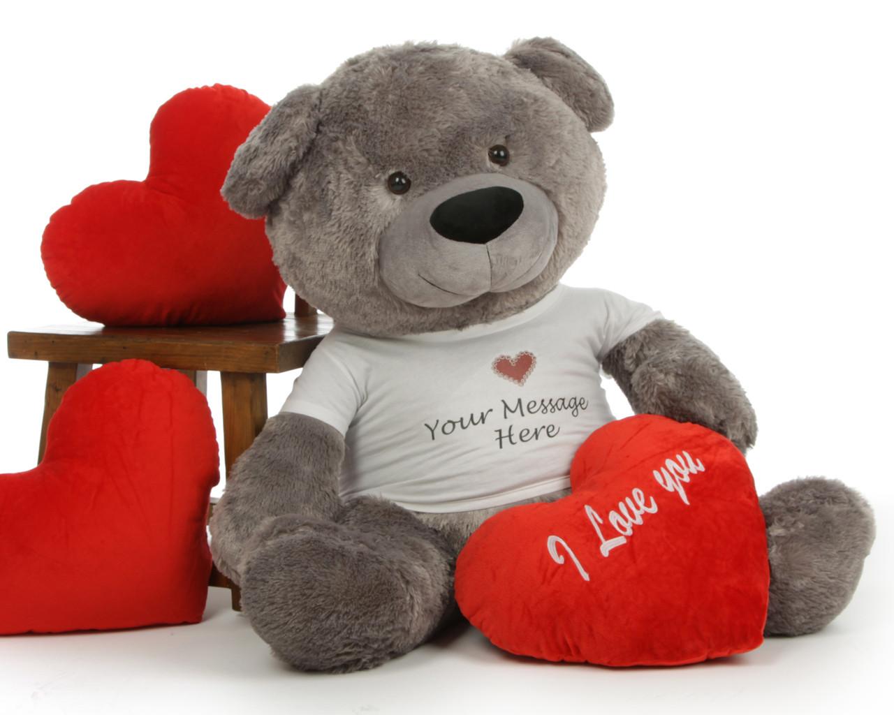 Big Teddy Bear Personalized Design Templates