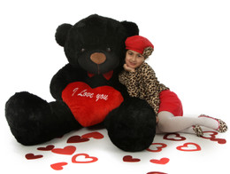 Huge Adorable Romantic Valentines Day Teddy Bears 2 6ft Tall