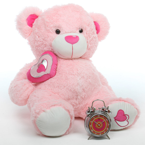Cute Mittens Wallpaper Cutie Pie Big Love 30 Quot Pink Big Stuffed Teddy Bear Giant