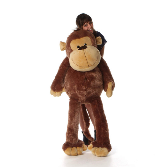 5ft Life Size Giant Stuffed Monkey Big Daddy From Giant