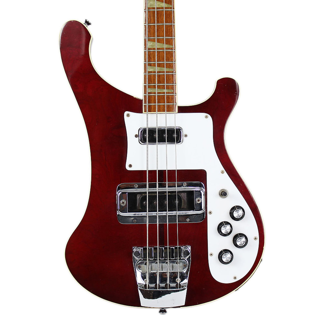 small resolution of vintage 1976 rickenbacker 4001 electric bass guitar burgundyglo
