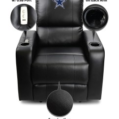 Dallas Cowboys Chair Cover White Wood Rocking Canada Recliner Home Ideas