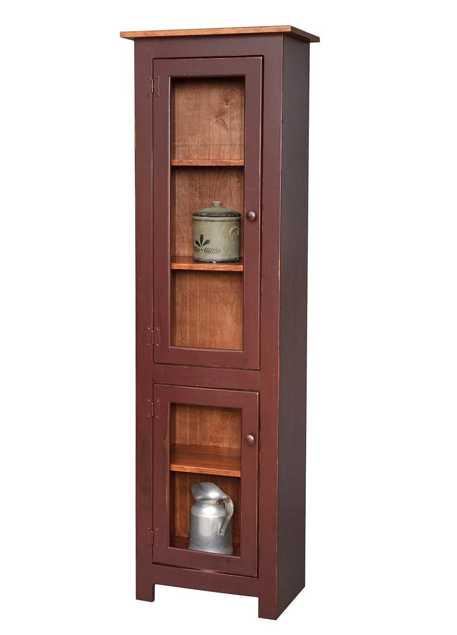 Amish Handcrafted  Small Curio Cabinet  Vintage