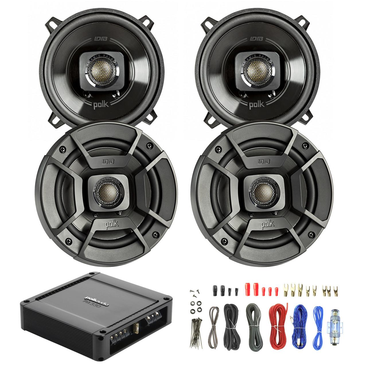 medium resolution of 4x polk audio db522 5 25 inch 300 watt 2 way speakers new