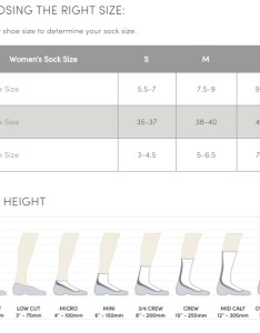 Icebreaker women socks size chart sept  also ski compression light over the calf rh adventuresafety