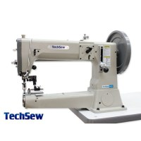 Techsew 810 Post Bed Roller Foot Industrial Sewing Machine ...