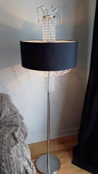 Modern Contemporary Crystal Floor Lamp CF58801 - Montreal ...