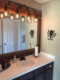 Vanity Lighting for industrial bathroom