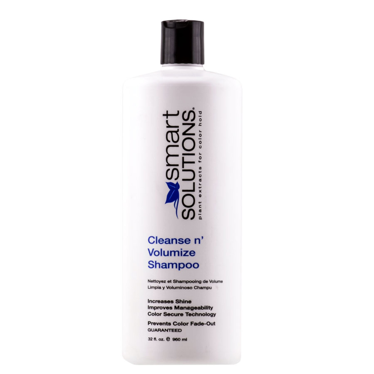 Smart Solutions Cleanse N' Volumize Shampoo Sleekshop