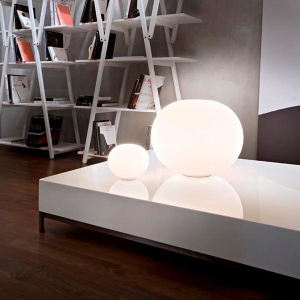 Glo Ball Basic Zero Modern Table Lamp   Jasper Morrison ...
