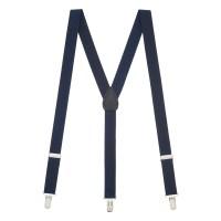 Suspender and Bow Tie Sets - NAVY BLUE   SuspenderStore