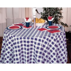 Party Chair Covers Walmart Purple Living Room Chairs Club Pack Of 12 Blue Gingham Disposable Plastic Picnic