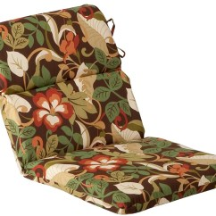 Patio High Back Chair Cushions Chairman Meaning In Tamil Outdoor Furniture Cushion Floral Cafe 28873037