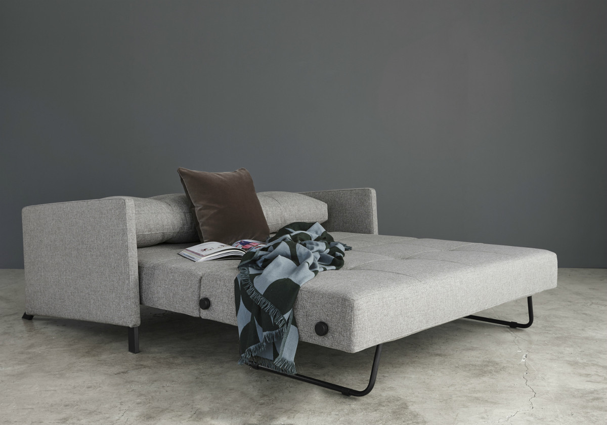 queen sofa bed no arms corner large sofabed cubed 160 by innovation