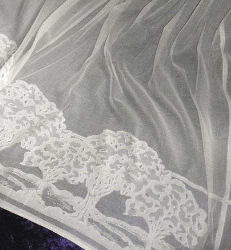 Glens Edge Lace Curtains  The Mission Motif