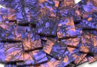 Bulk Discount - Violet & Copper Van Gogh Stained Glass ...