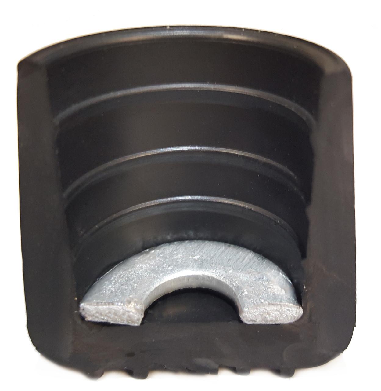 folding chair rubber feet aeron headrest review 100 pk non marring foot cap glides