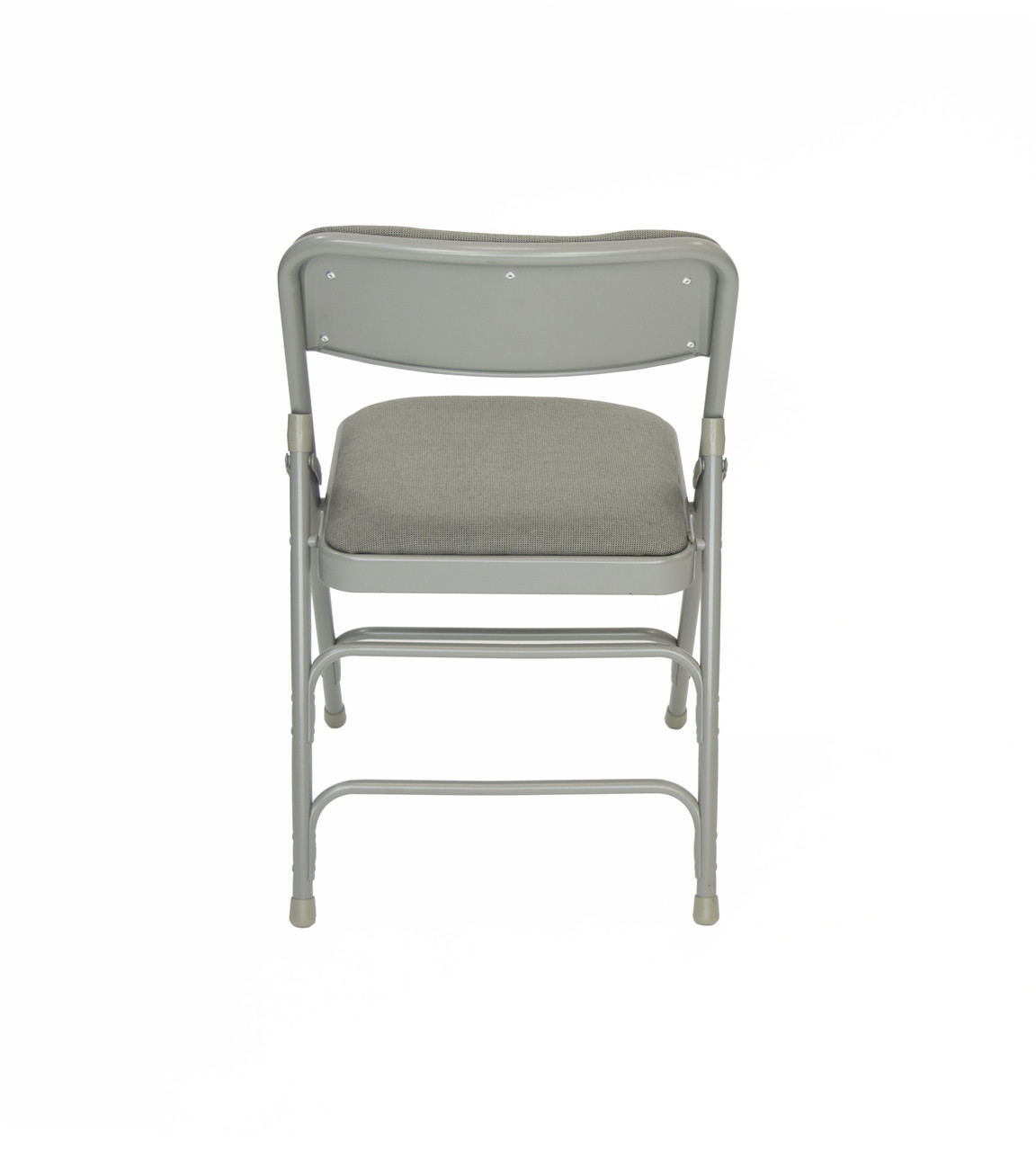 cloth padded folding chairs knock off barcelona chair rhino fabric quad hinged triple