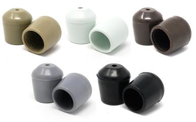 100 pk NonMarring Plastic Foot Cap Glides for Rental