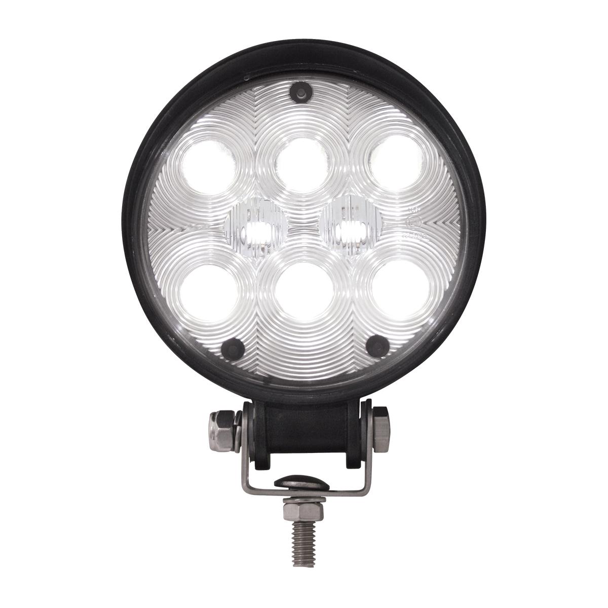 Round 8 LED WORK LIGHT  High intensity White LED Truck