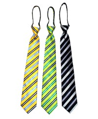 "Men's Zipper Ties for 5'5"" Tall or less - MPWZ1851"