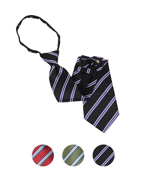 """Men's Zipper Ties for 5'5"""" Tall or less"""