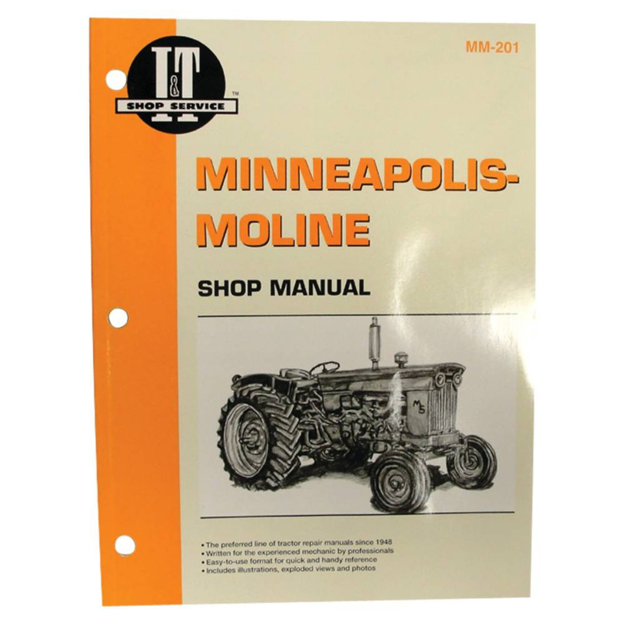 new service manual for minneapolis moline tractor mm201 335 4 5 battery wire diagram avery a tractor wire diagrams [ 900 x 900 Pixel ]