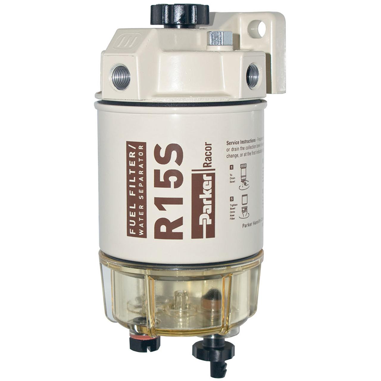 racor 200 series 15 gph low flow diesel fuel filter water separator 215 filter assembly [ 1280 x 1280 Pixel ]