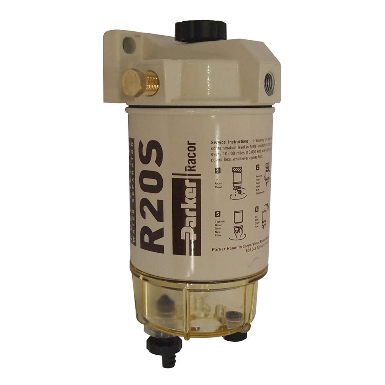 racor 200 series 30 gph low flow diesel fuel filter water separator 230 filter assembly [ 1280 x 1280 Pixel ]