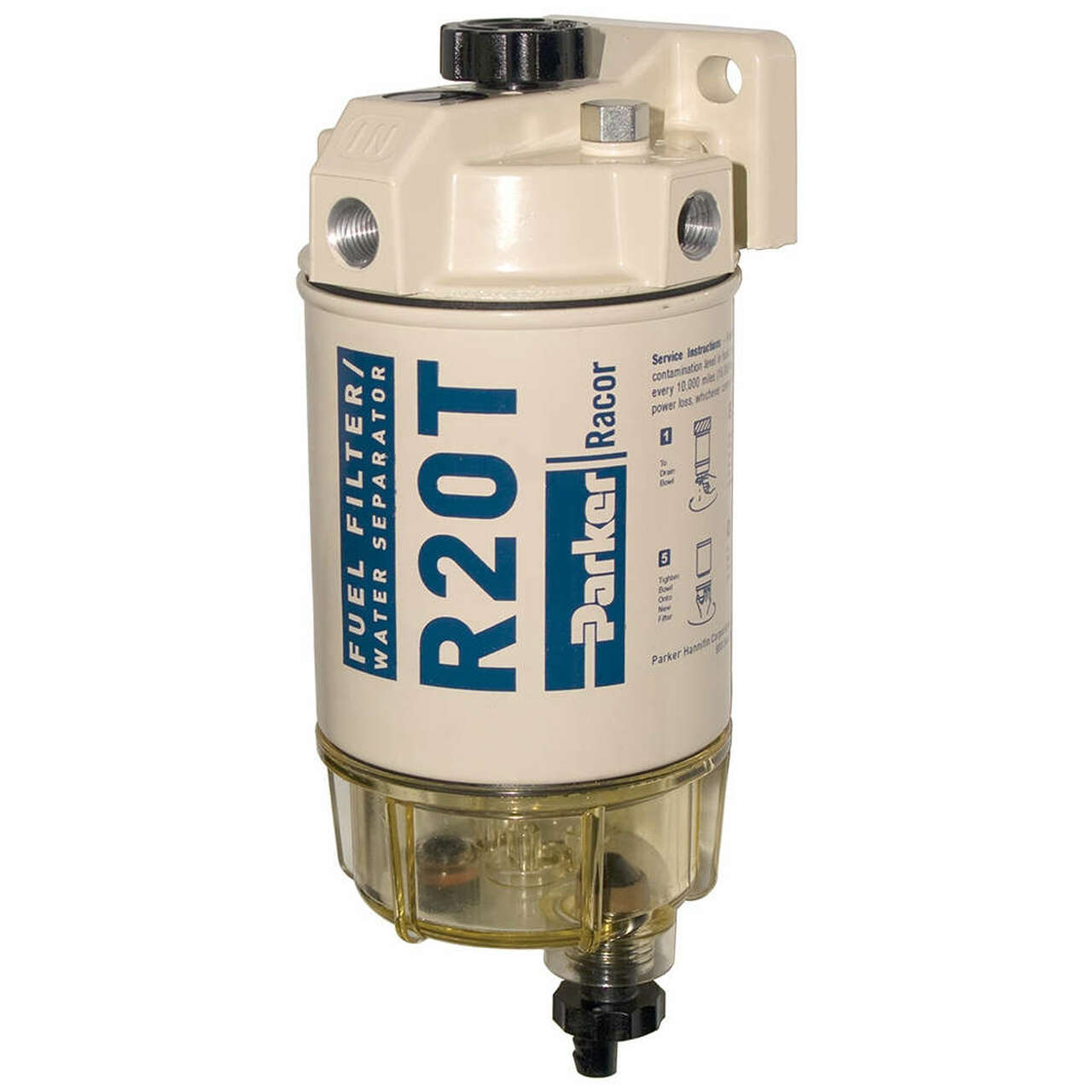 medium resolution of racor 200 series 30 gph low flow diesel fuel filter water separator 230 filter assembly