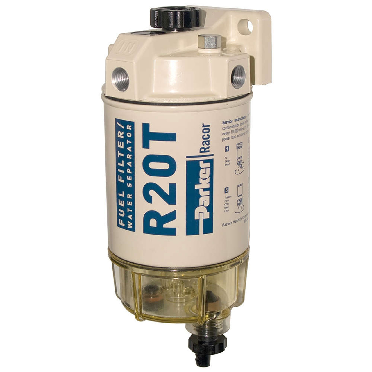 hight resolution of racor 200 series 30 gph low flow diesel fuel filter water separator 230 filter assembly