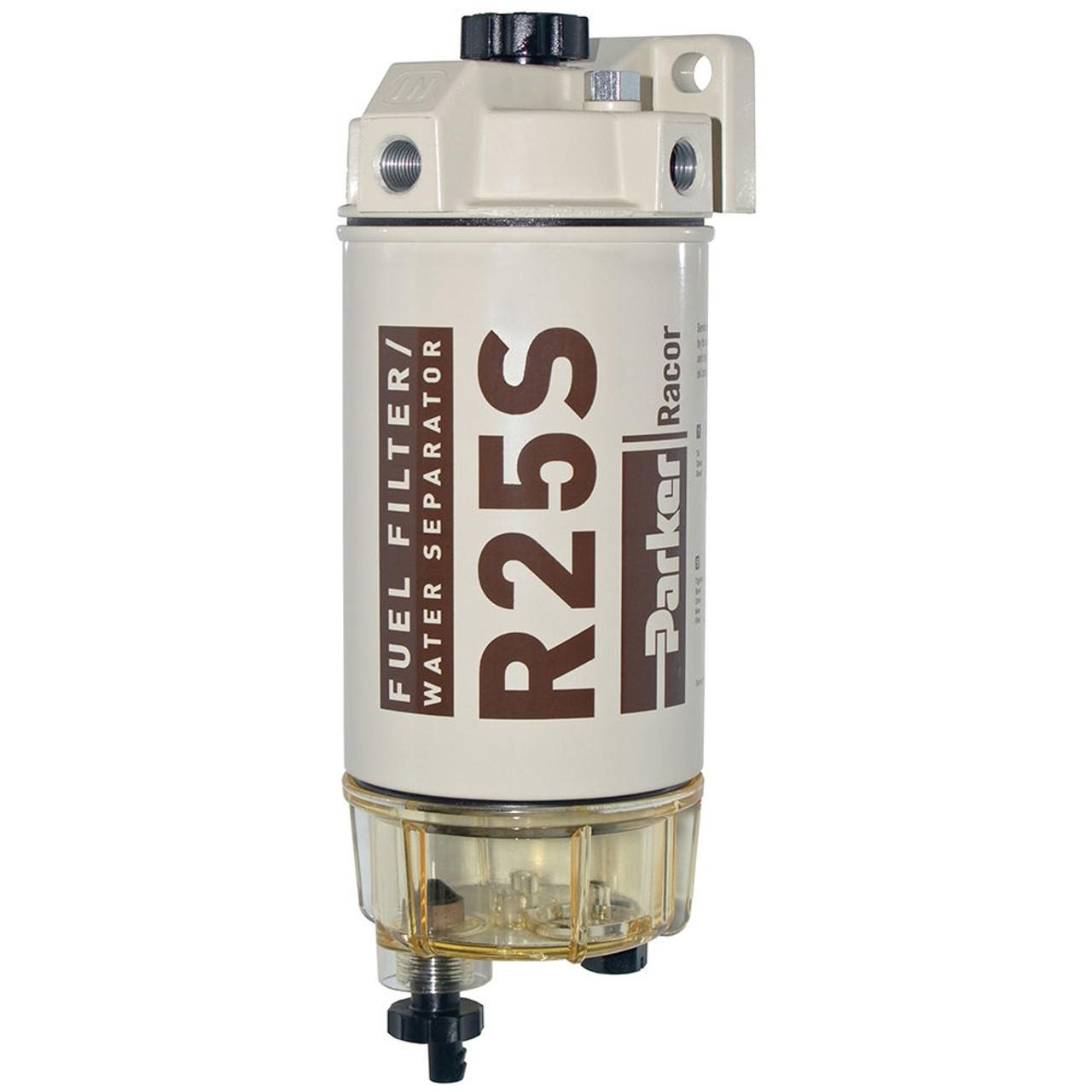 racor 200 series 45 gph low flow diesel fuel filter water separator 245 filter assembly [ 1000 x 1000 Pixel ]